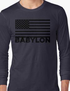 BABYLON FLAG BLK T-Shirt
