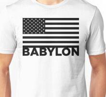 BABYLON FLAG BLK Unisex T-Shirt