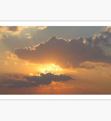 Ukrainian sunset  Sticker