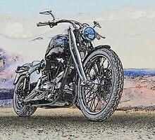 Chopper Illustration II by DaveKoontz