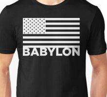 BABYLON FLAG WHT Unisex T-Shirt