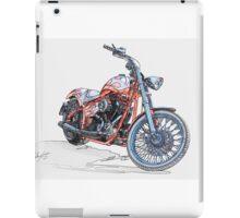 Chopper Illustration III iPad Case/Skin