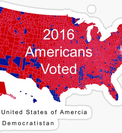The Map Democrats Don't Want You To See Sticker