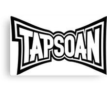 Taps Oan MMA Logo Canvas Print