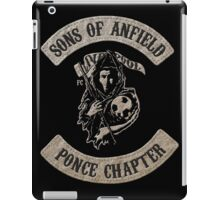 Sons of Anfield - Ponce Chapter iPad Case/Skin