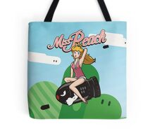 Miss Peach Pin-Up Tote Bag