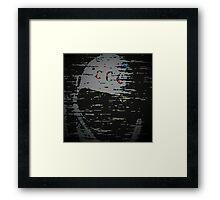 Pixel Spaceman  Framed Print
