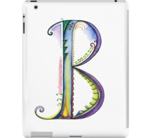 The Letter B iPad Case/Skin