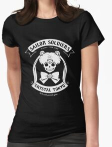 Moon's Angels Womens Fitted T-Shirt