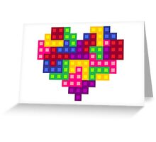 Puzzle Heart <3 Greeting Card