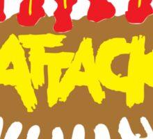 Shart Attack Sticker