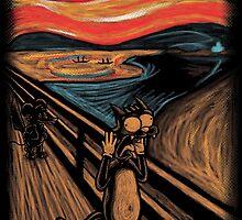 Scream in Springfield by Nasken