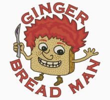 Funny Ginger Bread Man Christmas Pun by emkayhess