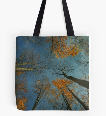 Autumn treetops Tote Bag