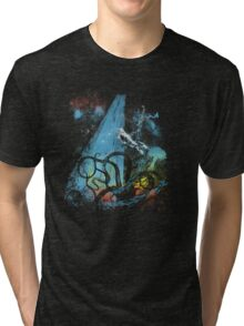 diving danger Tri-blend T-Shirt