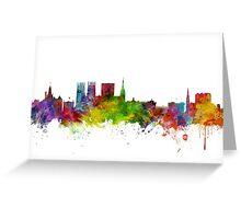 York England Skyline Greeting Card