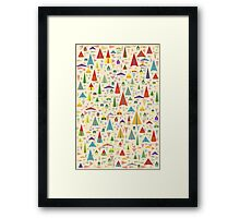 Paper Airplane 60 Framed Print