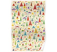 Paper Airplane 60 Poster