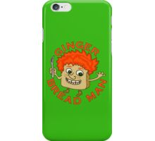 Funny Ginger Bread Man Christmas Pun iPhone Case/Skin