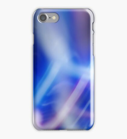 Purple led abstract  iPhone Case/Skin