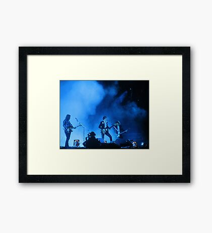 Arctic Monkeys - Leeds 2014 Framed Print