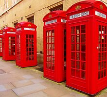 London Telephone Boxes by banterdesignz