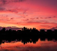 Candy-floss Sky by nathano
