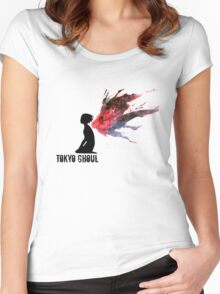 Touka's Kagune  Women's Fitted Scoop T-Shirt