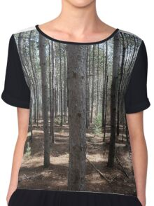 Forest  Chiffon Top