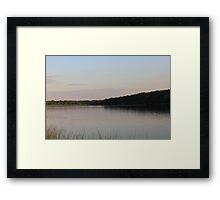 Sunset in Minnesota Framed Print