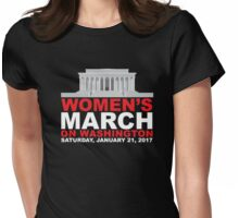 Women's March on Washington January 2017 Womens Fitted T-Shirt