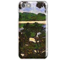 Vincent and I at the Lake iPhone Case/Skin