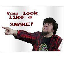 JonTron: YOU LOOK LIKE A SNAKE!  Poster