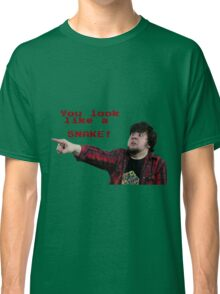 JonTron: YOU LOOK LIKE A SNAKE!  Classic T-Shirt