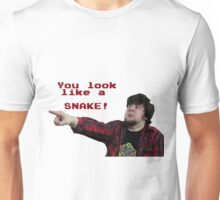 JonTron: YOU LOOK LIKE A SNAKE!  Unisex T-Shirt