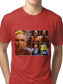 Pulp Fiction movie red ball gag gimp moe Tri-blend T-Shirt