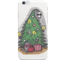 the spookies' christmas tree. iPhone Case/Skin