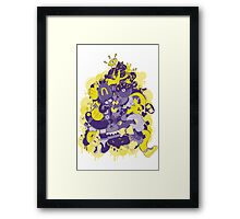 Young monsta Framed Print