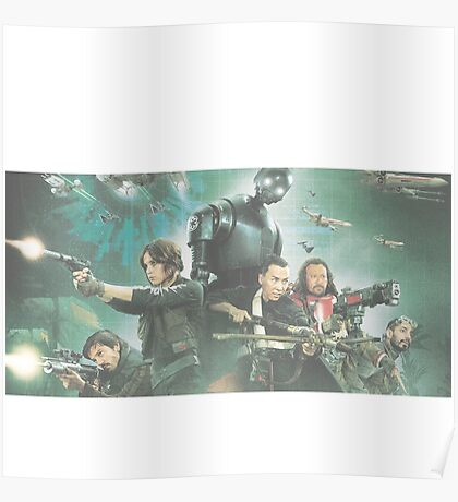 Star Wars Rogue One Characters Poster