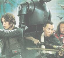 Star Wars Rogue One Characters Sticker