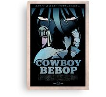 Cowboy Bebop Fan Art: ALT color Canvas Print