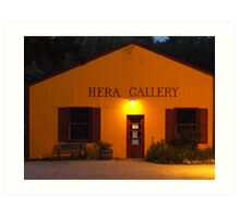 Hera Gallery, Wakefield Rhode Island at Sunrise 2 Art Print