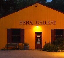 Hera Gallery, Wakefield Rhode Island at Sunrise 2 by Maureen Zaharie