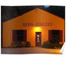 Hera Gallery, Wakefield Rhode Island at Sunrise 2 Poster