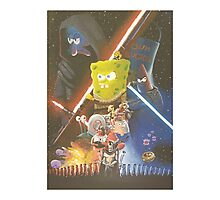 Rogue One SpongeBob SquarePants Photographic Print