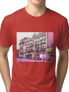 digitally altered wakefield ri Tri-blend T-Shirt