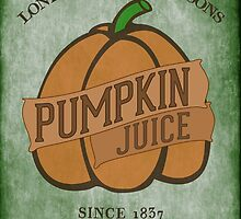 Fictional Brew - Pumpkin Juice by Amanda Mayer