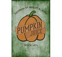 Fictional Brew - Pumpkin Juice Photographic Print
