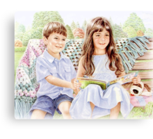 Story Time 2 Canvas Print