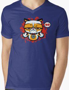 Sour Puss Mens V-Neck T-Shirt